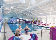 Newlands holiday park with pool at charmouth in dorset - Holidays in dorset with swimming pool ...