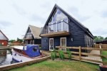 Large Norfolk Broads Lakeside Lodge