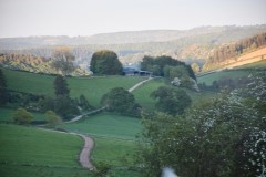 Black hall lodges near knighton and ludlow in shropshire for Ludlow hotels with swimming pool